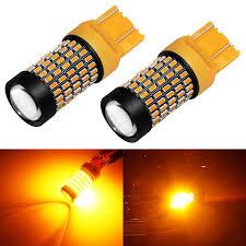 Light 103 Phinlion 7443 Led Amber Turn Signal Light Bulbs 2800 Lumens Super Bright 3014 103 Smd T20 992 7440 7443 7444 Led Bulb For Turn Signal Blinker Lights