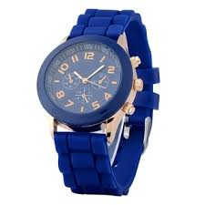 watches overstock com the best prices on designer mens zodaca dark blue analog quartz silicone jelly sports watch