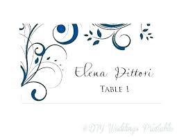 Image 0 Table Tent Cards Template Free Table Number Cards