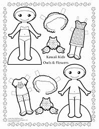 American Girl Doll Coloring Pages Dessin Paper Doll Coloring Pages