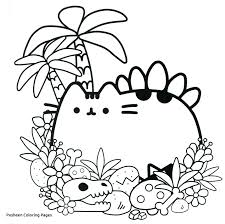 Pusheen Coloring Pages To Print At Getcoloringscom Free Printable