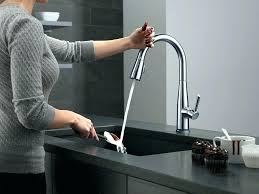 Beautiful Delta Kitchen Faucet Faucets Magnificent Touch Water  Motif Sink Ideas Of F2