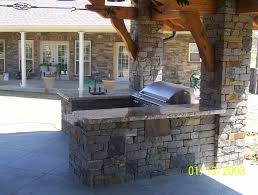 Outdoor Kitchen Roof Outdoor Kitchen Outdoor Kitchen For Grill Party Completed With