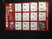 Bowflex Ultimate 2 Exercise Chart Bowflex Ultimate 2 Exercise Wall Chart Home Gym