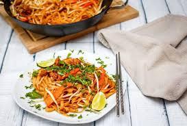 easy gluten free vegan thai fried rice