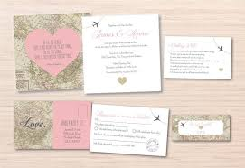 Map Wedding Invitation Destination Wedding Invitation