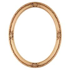 antique oval picture frames. Oval Frame #601 Gold Paint Antique Picture Frames B