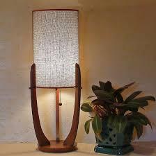 mid century lighting. midcentury modern table lamp by lise vintage lighting mid century