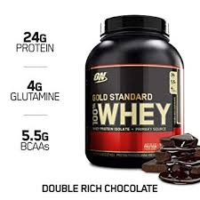 optimum nutrition gold standard 100 whey protein powder double rich chocolate 5 pound