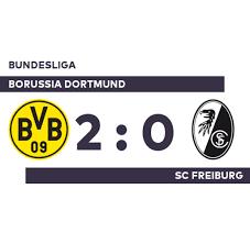 So verfolgen sie das spiel live im tv, stream und ticker. Borussia Dortmund Sc Freiburg Erfolgsserie Von Borussia Dortmund Setzt Sich Gegen Scf Fort Bundesliga Welt