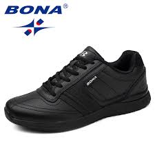 BONA New Popular Style <b>Men Casual</b> Shoes Lace Up <b>Comfortable</b> ...