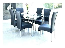 small glass dining table and 4 chairs extending clearance round room furniture remarkable