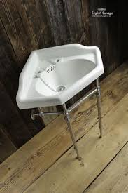 reclaimed victorian corner wash basin future library pinterest