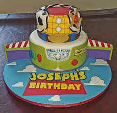 Toy Story Birthday Cake Baking Fun Toy Story Birthday Cake Toy