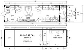 tiny house floor plans 32 long tiny home on wheels design