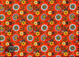 Cotton Quilt Fabric Sonoran Desert Flower Orange Yellow - AUNTIE ... & Cotton Quilt Fabric Sonoran Desert Flower Orange Yellow - AUNTIE CHRIS QUILT  FABRIC. COM Adamdwight.com
