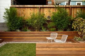 outdoor wood patio ideas. Wonderful Patio 12 Ideas For Including BuiltIn Wooden Planters In Your Outdoor Space   These Inside Wood Patio R