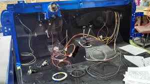 76 luber half cab build classicbroncos com forums early bronco wiring harness engine compartment pretty much done all new wiring harness installed