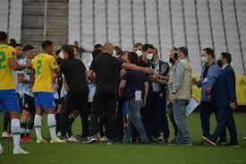 تصفيات مونديال 2022: توقف مباراة البرازيل والأرجنتين بسبب مخالفة بروتوكولات  كوفيد-19 - اخبار عاجلة