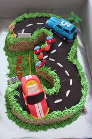 Cars 3 Cake Design Rahas Oven Birthday Cake No 3 Cake With Cars Cool