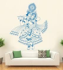 hoopoe decor vinyl lord krishna wall decal on spiritual vinyl wall art with buy hoopoe decor vinyl lord krishna wall decal online spiritual