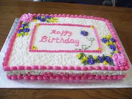 10 Big Y Birthday Cakes Designs Photo Girl Birthday Sheet Cake