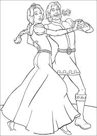 Small Picture Shrek coloring pages just married ColoringStar