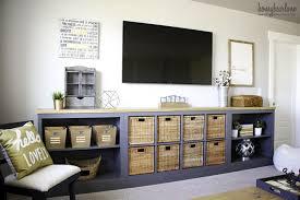 turn expedit into a long storage unit via honeybearlane com