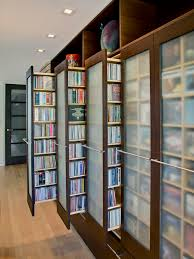 various cool dvd storage ideas contemporary closet great storage idea also the frosted glass