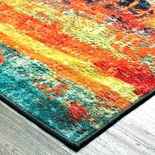 neuilly blue green area rug yellow rugs dunmore orange and furniture alluring burnt fabulous new red