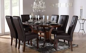dark dining room furniture. exellent furniture extraordinary dark wood dining table and 6 chairs 38 with additional  room sets with to furniture e