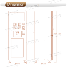Coffee Vending Machine Dimensions Best Coffee Vending Machine For 488 Hot Coffee Vending Machine For 488 Hot
