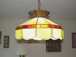 dining room creative stained glass light fixtures