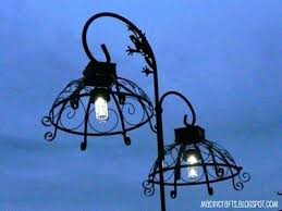 solar lights for hanging baskets dollar outside hanging lamps shepherds hook wire hanging plant baskets