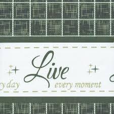 Laugh Fenster Vorhang Querbehang Grün Love 1473 X 356 Cm Achim