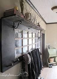Coat Rack From Old Door