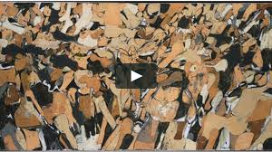 abstract expressionism on vimeo conrad marca relli abstract expressionism new york school 1950s collage painter