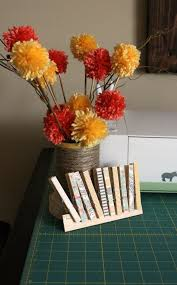 yarn pom pom bouquet from wait til your father gets home poms yarn
