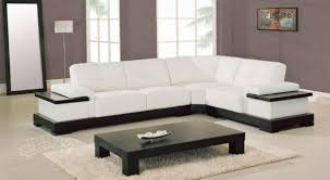 living room corner furniture designs. white leather corner sofa in minimalist living room furniture designs