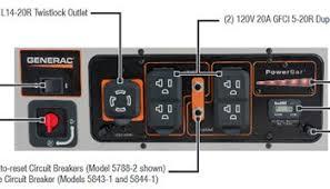 generac 5847 xg8000e 8000 watt portable generator review power generac xt8000e owners manual at Generac Xg 8000 Wiring Diagram