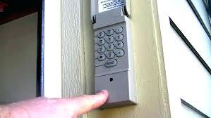 how to install a craftsman garage door opener keypad installation diagnosis repair