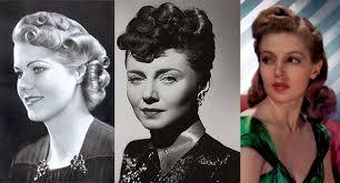 vine 1940s hairstyleakeup