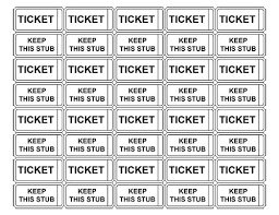 Play Ticket Template Pages Ticket Template Miss Blue Bird Gift Certificate Template