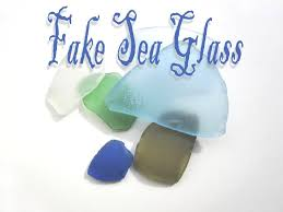 making fake sea glass at home