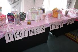 Pin Baby Shower Table Decorations Ideas Girls Pinterest