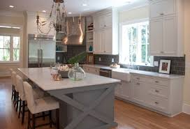 Kitchen Grey High Gloss Wood Kitchen Cabinet With Grey Metal