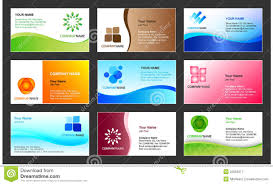 business card template designs business card template design stock vector illustration of cards