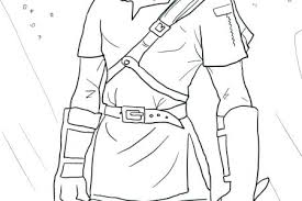 Link Coloring Pages Link Coloring Pages Skyward Sword Toon Link