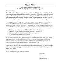 Sample Of Accounting Internship Cover Letter Milviamaglione Com