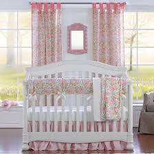 perless pink fl crib bedding set pink fl baby bedding set